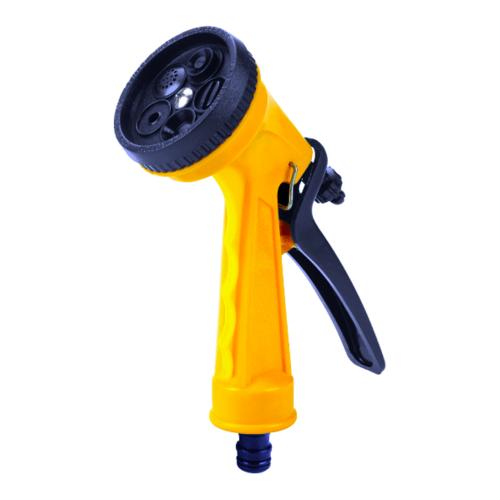 Tree O ปืนฉีดน้ำหัวปรับได้ DY2074 สีเหลือง