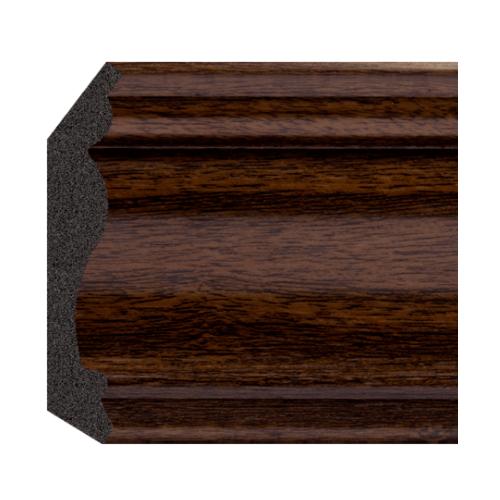 GREAT WOOD ไม้บัวบน PS ขนาด  70x14x2900 mm(กxหนาxย) JC335-5 สีน้ำตาลเข้ม