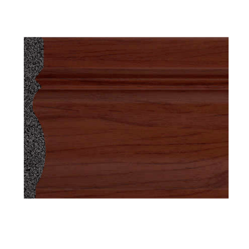 GREAT WOOD ไม้บัว PS ขนาด  80x10x2900mm.  JC195-4 สีน้ำตาลเข้ม