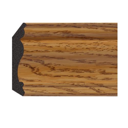 GREAT WOOD ไม้บัวบน PS ขนาด 70.8x14.2x2900mm. JC335-1 สีน้ำตาลอ่อน