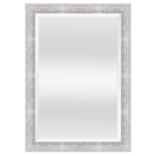 NICE กระจกเงามีกรอบ  สีซิลเวอร์ 60x90 cm.   4867-WK-B-019