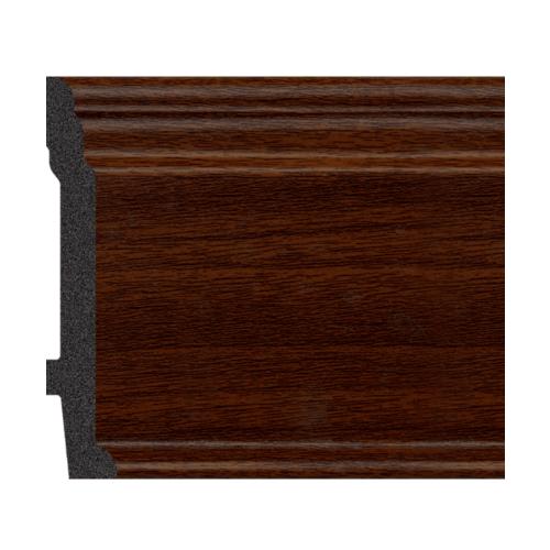 GREAT WOOD บัวพื้น ขนาด  89x11.5x2900mm   JC192-3 สีวอลนัท