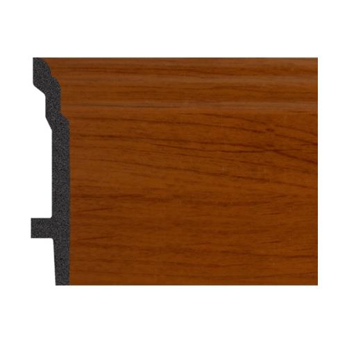 GREAT WOOD บัวพื้น สีเอลเดอร์ ขนาด  92x16x2900mm. JC193-4 สีน้ำตาลเข้ม