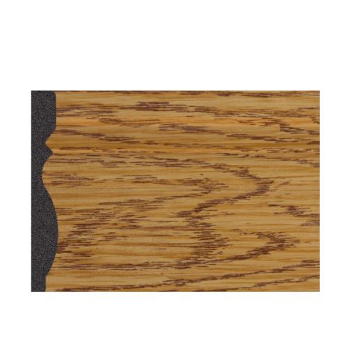 GREAT WOOD บัวพื้น สีบีส ขนาด 80x10x2900mm.  JC195-1