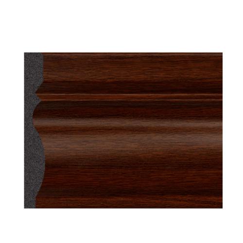 GREAT WOOD บัวพื้น สีวอลนัท  ขนาด 80x11.5x2900mm.  JC195-3