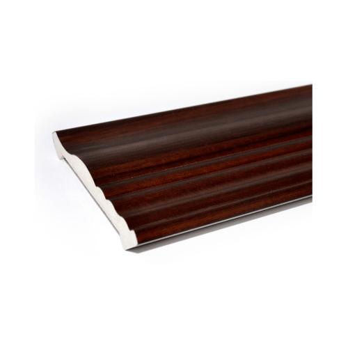 GREAT WOOD ไม้บัวบน FCR-0713A สีสัก#MI01 2.7ม.