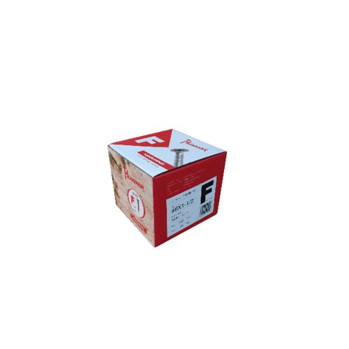 HUMMER สกรูเกลียวปล่อยหัว 6X1-1/2 F-HM6112 สีโครเมี่ยม