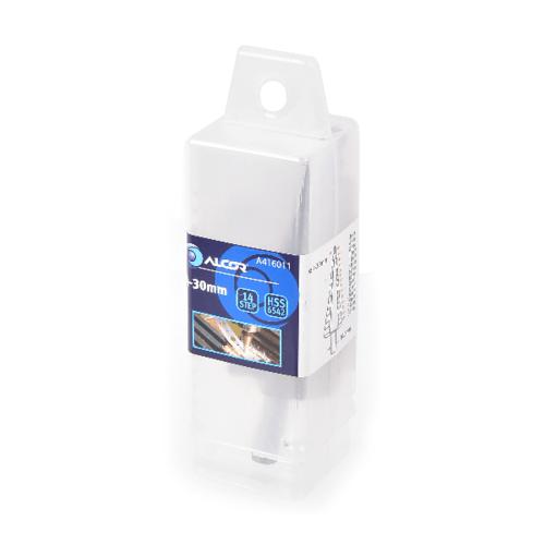 ALCOR ดอกสว่านคว้านรู HSS-4-30MM. x2 A416011 สีโครเมี่ยม