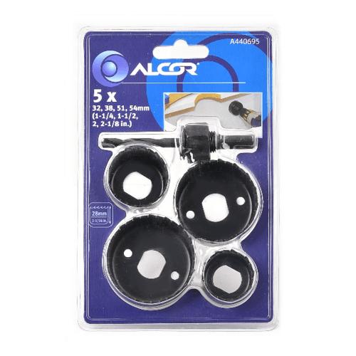 ALCOR ชุดโฮลซอ 5 ชิ้น    A440695  สีดำ