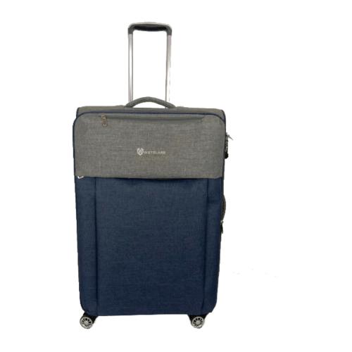 WETZLARS กระเป๋าเดินทางผ้า ขนาด 28 นิ้ว B-346BL-3 สีน้ำเงิน