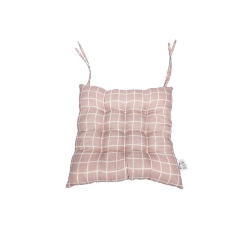 COZY  เบาะรองนั่งสี่เหลี่ยม ขนาด 40×40×5ซม.  CX03 สีชมพู