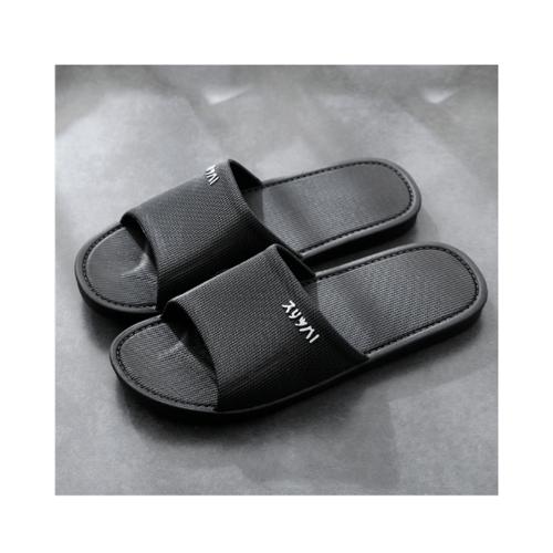 PRIMO  รองเท้าแตะ  PVC เบอร์ 42-43 ZL010-BK423 สีดำ