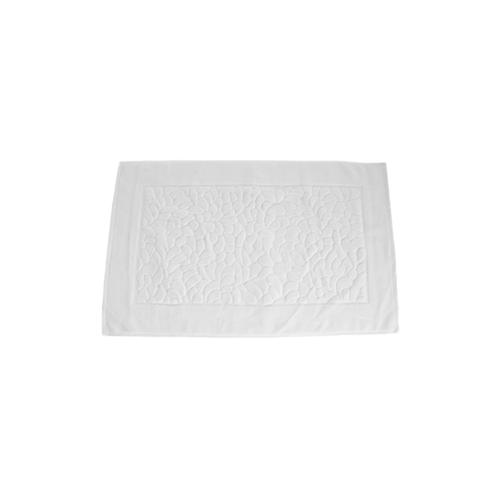 COZY ผ้าเช็ดเท้าโรงแรม ขนาด 50×80×0.45 ซม. LL05 สีขาว