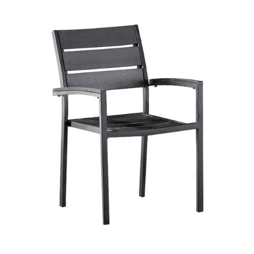 Delicato  เก้าอี้สนาม  ขนาด54×58×84ซม. HB12 สีดำ