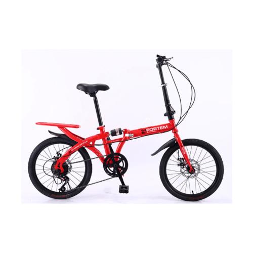FORTEM จักรยานพับได้ 20 นิ้ว  MT01-RD สีแดง