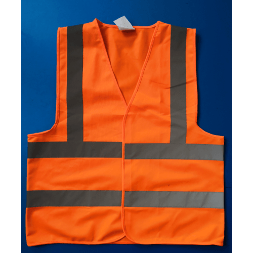 Protx เสื้อจราจรสะท้อนแสง   Z0007-J1L ขนาด L สีส้ม