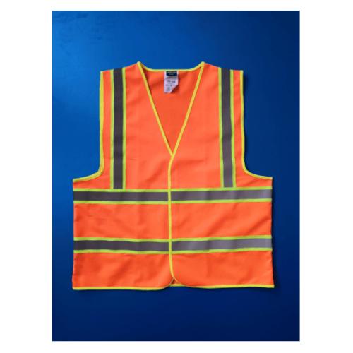 Protx เสื้อจราจรสะท้อนแสง  Z0024-J1XL ขนาด XL สีส้ม