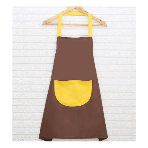 KATELL ผ้ากันเปื้อนแบบกันน้ำ ขนาด  60x70x0.1cm  XFX027 สีน้ำตาล-เหลือง