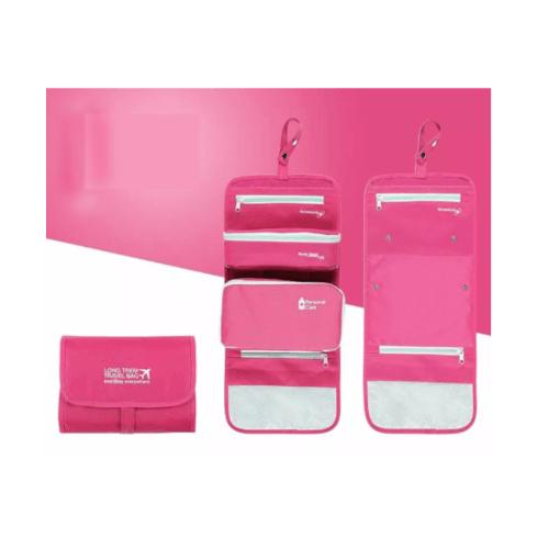 WETZLARS กระเป๋าจัดระเบียบแยกชิ้นได้   ขนาด 23.5x18x3 cm สีชมพูบานเย็น ZRH-019-FS