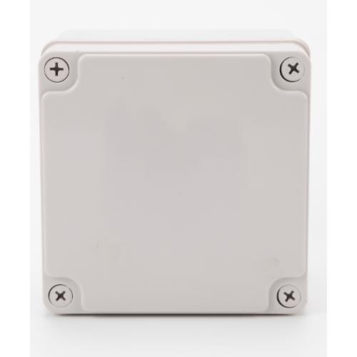 V.E.G กล่องกันน้ำพลาสติก ขนาด 125x125x100mm.  THE-12 สีขาว