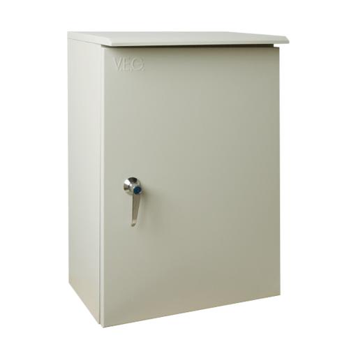 V.E.G. ตู้กันน้ำแบบมีหลังคา  SBP-3 สีเทาอ่อน