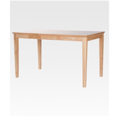 Pulito โต๊ะอาหารอีสตัน ขนาด 125x75x73ซม สีธรรมชาติ