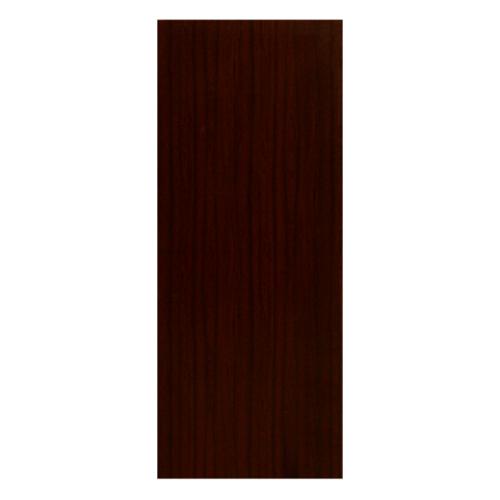 HOLZTUR ประตูปิดผิวพีวีซี บานทึบเรียบ ขนาด 80x200ซม.  PVC-F01-GC05 สีไม้สัก