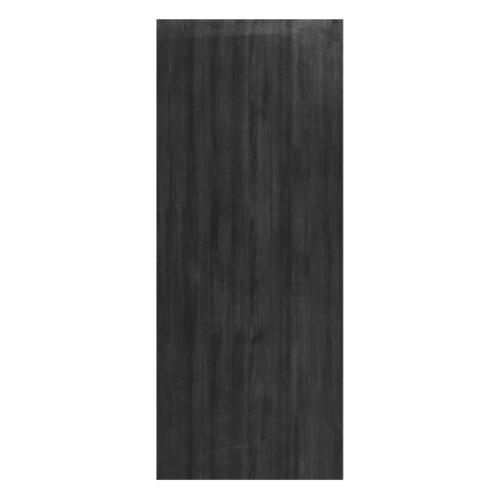 HOLZTUR ประตูปิดผิวพีวีซี บานทึบเรียบ ขนาด 80x200ซม. PVC-F01-YC09 สีโมค่า