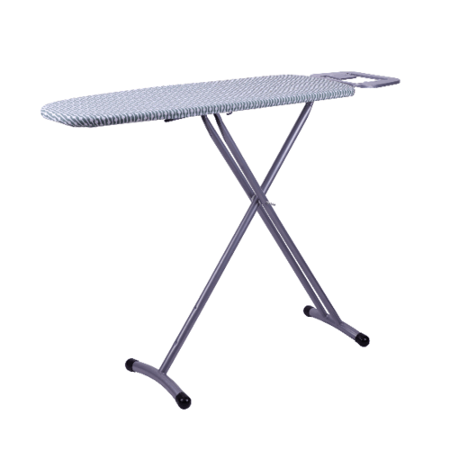 LUXUS โต๊ะรีดผ้ายืนรีด  ขนาด 30x91x86ซม. SKR005 สีขาว