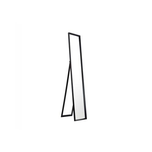 NICE กระจกมีกรอบตั้งพื้น (PS) ขนาด 30x150cm. นอร์ดิก 299-06 สีดำ