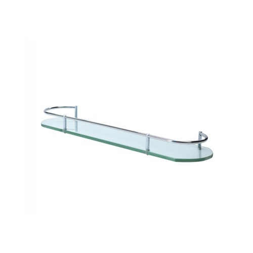 VERNO  ชั้นวางกระจกขอบสแตนเลส 304 ยาว 50ซม.  PQS-9088-50-A