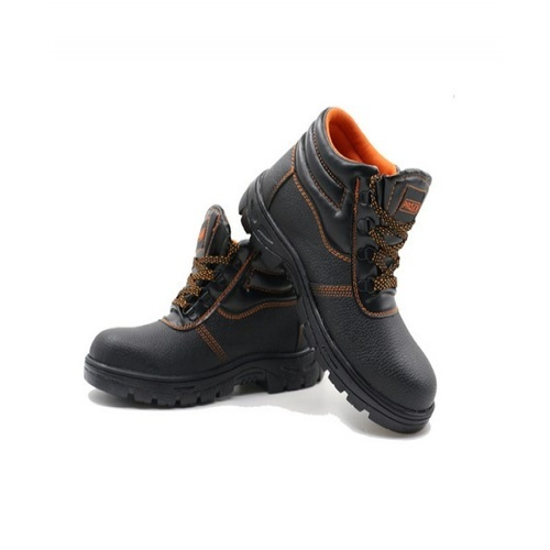 Protx รองเท้าเซฟตี้ พื้นเหล็ก เบอร์45 หุ้มข้อ ST210 สีดำ