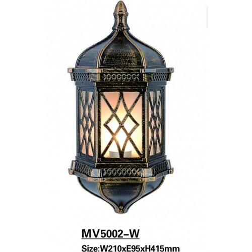 EILON โคมไฟผนัง สีดำทอง  5002-W