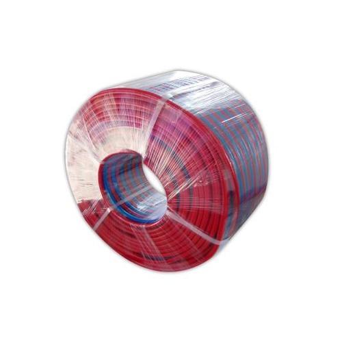 TUF สายลมคู่ 8MM. (5/16นิ้ว) น้ำเงิน-แดง(เมตร) - สีแดง