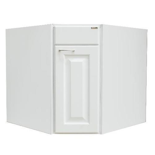 ตู้เข้ามุมหกเหลี่ยมJSR-A-HL-8330X-WH JIGSAW ขาว