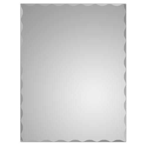 NICE กระจกเงาทรงเหลี่ยม ขนาด 45x60ซม. PQS-XS6045I