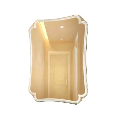 NICE กระจกเงาทรงเหลี่ยม ขนาด 60x80ซม.  PQS-XS6080C