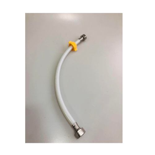 IRIS สายน้ำดี PVC 45ซม.  CP-8908-18 สีขาว