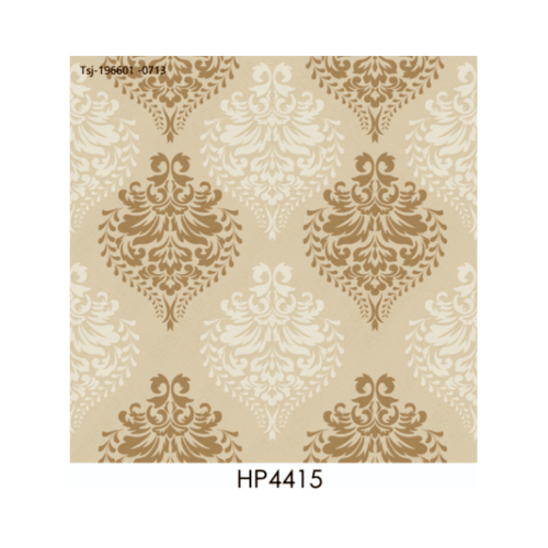 Marbella 16x16 กนก-ทอง  HP4415 (12P) A. สีขาว