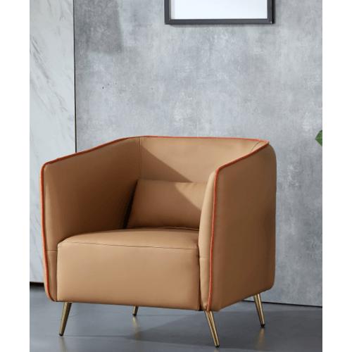 Pulito เก้าอี้พักผ่อน  BJT002 PU  สีน้ำตาล