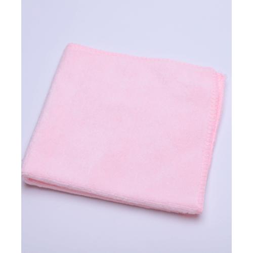 COZY ผ้าขนหนูไมโครไฟเบอร์ 30x30ซม. BQ014-PK สีชมพู