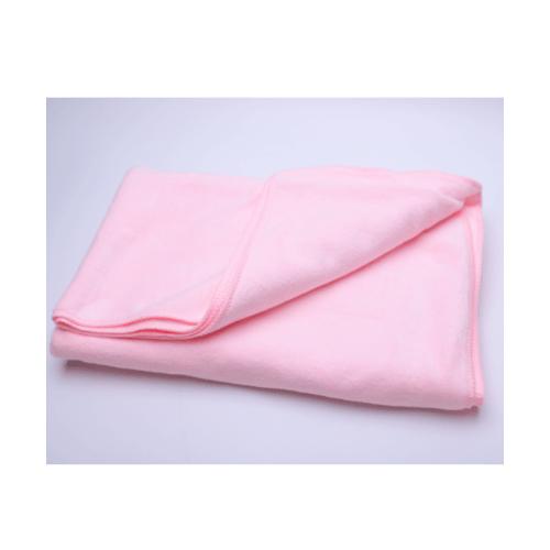COZY ผ้าขนหนูไมโครไฟเบอร์ 70x140ซม. BQ016-PK สีชมพู