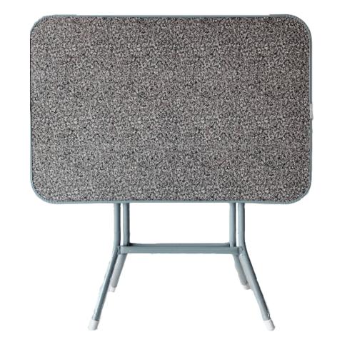 - โต๊ะพับหน้าไม้ขอบเหล็ก 3 ฟุต   MT9161 สีเทา