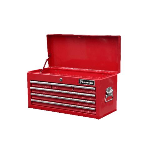 HUMMER ชั้นเก็บเครื่องมือ 4 ชั้น (6 ช่อง) GLB024T สีแดง