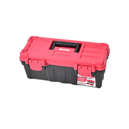HUMMER กล่องเครื่องมือพลาสติก 13นิ้ว  GLB320130 สีแดง-ดำ สีแดง