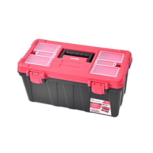 HUMMER กล่องเครื่องมือพลาสติก 20นิ้ว  GLB320134 สีแดง-ดำ