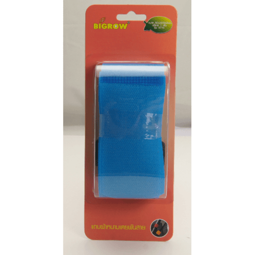 BIGROW แถบผ้าหนามเตยพันสายสีน้ำเงิน รุ่นST15 ขนาด:50*2000*2มม. ST15