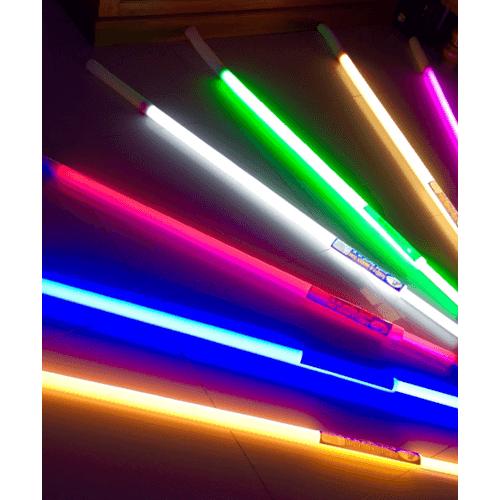 G-LAMP หลอดไฟประดับ LED  18W. ขนาด 120 CM มีสายปลั๊ก  T8  สีเหลือง