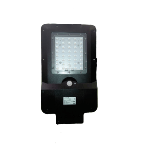 LUCECO ไฟ LED ถนนโซล่าร์เซลล์ LEXSS150B60-GH สีดำ