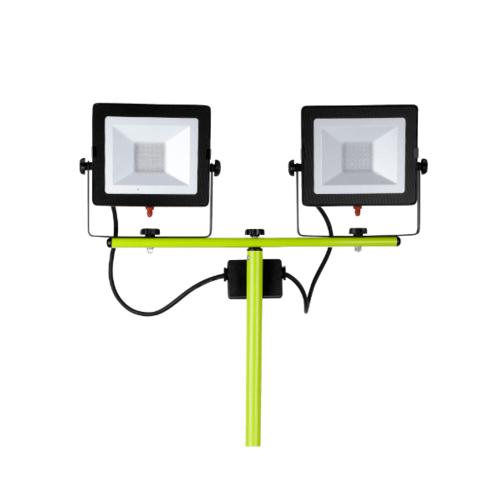 LUCECO ไฟ LED Worklight พกพา 60W EFLDTT30B50-GH60W สีเขียว